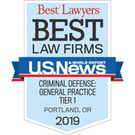 Best Law Firms - Tier 1 - General Criminal Defense