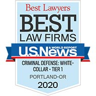Best Law Firms - Tier 1 - White Collar Criminal Defense